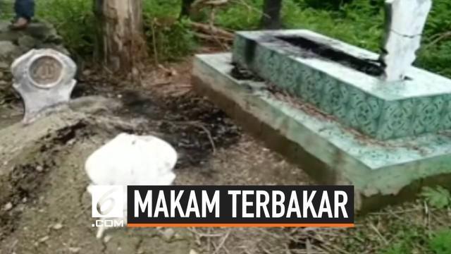 Belasan makam di Kelurahan Nunu, Kota Palu terbakar. Tidak diketahui siapa yang membakar makam-makam itu. Peristiwa ini sudah terjadi beberapa minggu belakangan