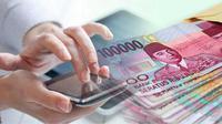 Ilustrasi cara mendapatkan uang menggunakan smartphone
