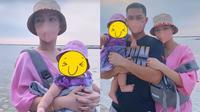 Liburan Zaskia Gotik Bareng Suami dan Anak (Sumbr: Instagram/zaskia_gotix)