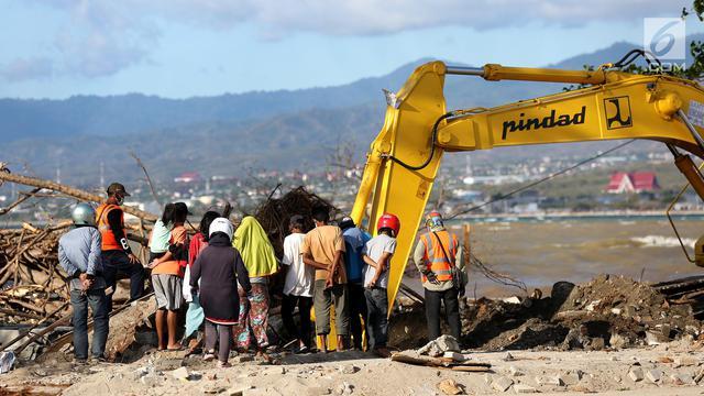 Perjuangan Sang Ibu Mencari Anaknya Pasca Gempa dan Tsunami Palu