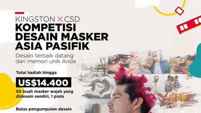 Kompetisi Bergengsi Desain Masker Kingston x CSD se-Asia ...
