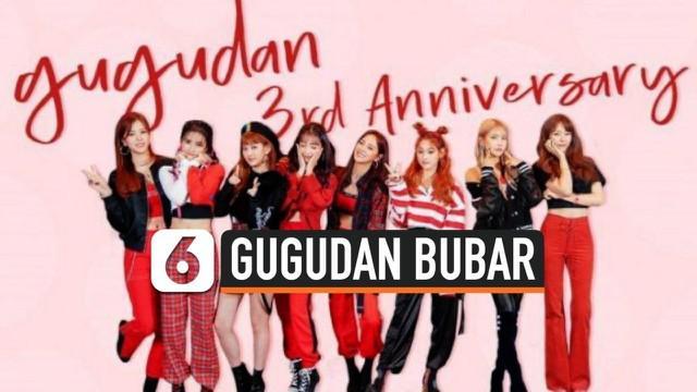Girlband asal Korea Selatan, Gugudan, resmi bubar pada 31 Desember 2020. Hal ini disampaikan oleh manajemen Gugudan, Jellyfish Entertainment.