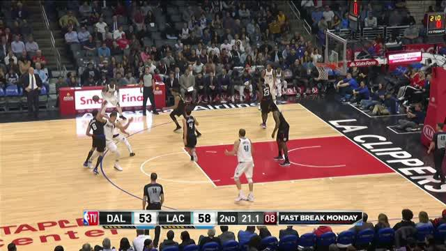 Berita video game recap NBA 2017-2018 antara LA Clippers melawan Dallas Mavericks dengan skor 104-101.