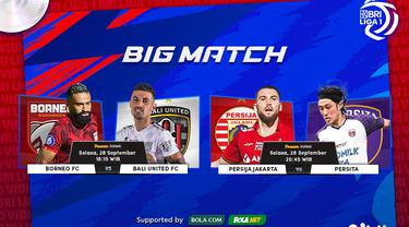 Jadwal & Link Streaming BRI Liga 1 :  Bali United vs Borneo FC