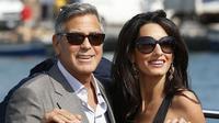 Rumah tangga George Clooney dan Amal Alamuddin ternyata berada di ujung tanduk (Luca Bruno/AP)