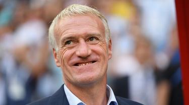 Didier Deschamps mengaku bangga dengan penampilan skuat Prancis pada laga melawan Argentina. (doc. FIFA)