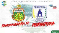 Liga 1 2018 Bhayangkara FC Vs Persipura Jayapura (Bola.com/Adreanus Titus)