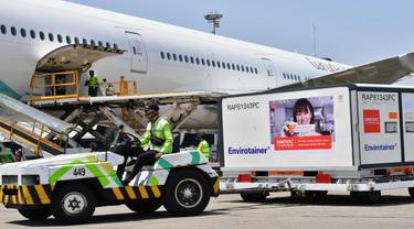 Indonesia Kedatangan Vaksin Sinovac