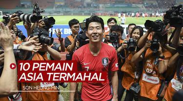 Berita Video Deretan 10 pemain Asia termahal, salah satunya Son Heung-min