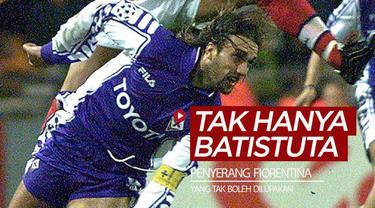 Berita video para striker Fiorentina yang tidak boleh dilupakan, ternyata tidak hanya Gabriel Batistuta yang mengesankan.