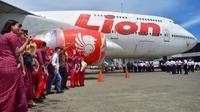 Lion Air pensiunkan pesawat jumbo Boeing 747-400. (Foto: Humas Lion Air)