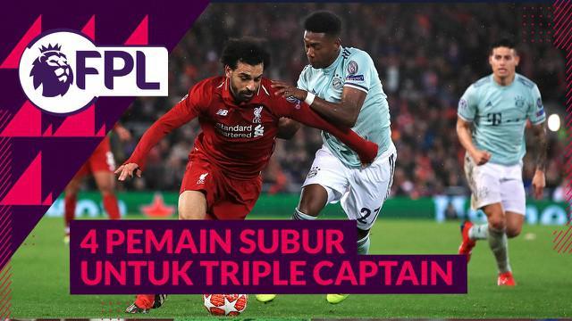 Berita video Saatnya Triple Captain 4 Pemain Subur Ini di Pekan 16 Liga Inggris