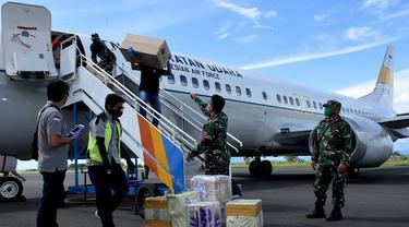Bantuan 7.000 APD dan 9.000 Picis Masker Sudah Tiba di Maluku Utara