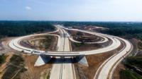 Jalan tol Balikpapan-Samarinda menelan investasi sebesar Rp 9,97 triliun merupakan salah satu Proyek Strategis Nasional (PSN). (Dok. Jasa Marga)