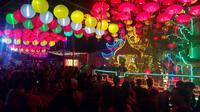 Merebaknya Virus Corona di berbagai negara di dunia, tak menyurutkan gelaran Festival Capgome di Kota Singkawang, Kalimantan Barat. (Liputan6.com/ Ist/ Frino)