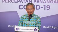 Juru Bicara Perintah untuk Penanganan Covid-19, Achmad Yurianto. (dok BNPB)