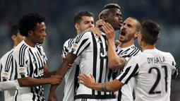 Kepindahan Pogba ke Juventus dengan status bebas transfer justru menjadi berkah tersendiri bagi Juve. AFP/Marco Bertorello)