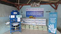 Dukung Pemerintah Cegah Covid-19, LPEI Berikan Bantuan Wastafel Portable & Paket Sembako kepada Warga Muara Angke (dok: LPEI)