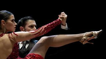FOTO: Penampilan Para Penari Tango di Kejuaraan Dunia