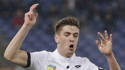 1. Krzysztof Piątek (Genoa) - 13 Gol (2 Penalti). (AP/Gregorio Borgia)