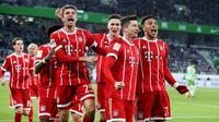 VfL Wolfsburg vs Bayern Munchen (AFP/Ronny Hartmann)