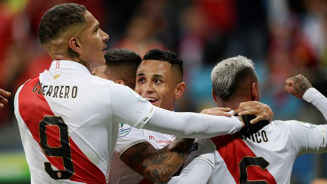 Video Highlights Chile vs Peru di Semifinal Copa America 2019 2