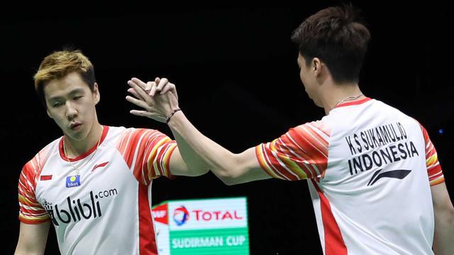 Kunci Performa Impresif Kevin / Marcus di Semifinal Piala Sudirman 2019 – Ragam Agenbola