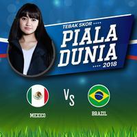 Babak 18 Besar Piala Dunia 2018 terus memberi kejutan. Setelah Argentina, Portugal dan Spanyol harus pulang setelah kalah dari rivalnya. Malam nanti giliran Tim Samba Brazil yang akan berhadapan dengan Meksiko. Marcella Simon yang menjagokan Meksiko,...