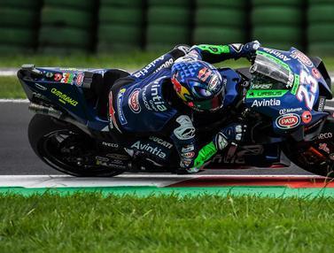 Foto: Berikan Kejutan Besar, Enea Bastianini Naik Podium dengan Motor Gaek di MotoGP San Marino 2021