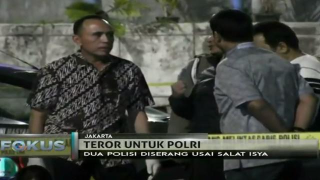 Polri terus mendalami kasus penyerangan seorang pria terhadap dua anggota Brimob di kawasan Blok M, Jakarta Selatan.