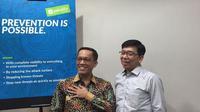 Ki-ka: Surung Sinamo, Country Director Palo Alto Networks Indonesia dan Filipus H.Suwarno, Technology Security & Governance Division Head, Bank OCBC NISP. Liputan6.com/Jeko Iqbal Reza