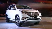 Tampilan all new Daihatsu Terios berubah total. (Herdi/Liputan6.com)