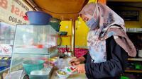 Kedai bakso di Cirebon. (Foto: Liputan6.com/Panji Prayitno)