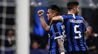 Striker Inter Milan, Lautaro Martinez (MARCO BERTORELLO / AFP)