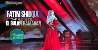 Fatin Shidqia masih rahasiakan single yang akan ia rilis di bulan Ramadan.
