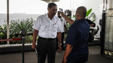 Antisipasi Virus Corona, Istana Kepresidenan Lakukan Pengecekan Suhu Tubuh