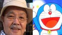 Pengisi suara asli dari serial animasi populer asal Jepang, Doraemon dikabarkan telah meninggal dunia. Menurut CNA, Tomita Kosei yang berusia 84 tahun meninggal setelah menderita stroke sepekan lalu.(Weibo/ Cartoon research)