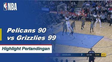 Joakim Noah mencetak 19 poin dan 14 rebound untuk memimpin Memphis menang di kandang atas New Orleans