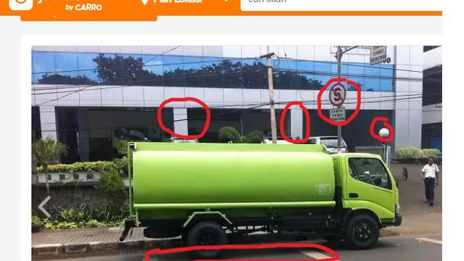 Cek Fakta Liputan6.com menelusuri foto mobil tangki tuak bersubsidi