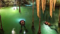 Penemuan gua bawah air terpanjang di dunia di Meksiko - AP