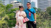 Potret Melissa Aryani Istri Choky Sitohang Hamil Anak Ketiga. (Sumber: Instagram/mrssitohang)