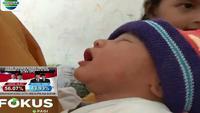 Bayi laki-laki ini berbobot 3,5 kilogram dengan panjang 60 sentimeter.