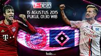 Bayern Munchen vs Hamburger SV (Bola.com/samsul hadi)