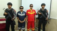 Rilis pers pengungkapan kasus pencurian dan peredaran narkoba Polres Pemalang, Jumat, 12 Juli 2019. (Foto: Liputan6.com/Polres PML/Muhamad Ridlo)