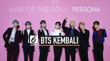 Setelah beristirahat dari jadwal kegiatan yang padat pada bulan Agustus kemarin, akhirnya BTS umumkan kembali ke industri musik. Hal ini dipastikan oleh Big Hit Entertainment, terlihat dari video para personil BTS yang sudah berada di Incheon Interna...