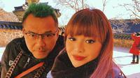 Potret Hangat Anang dan Aurel Hermansyah. (Sumber: Instagram.com/aurelie.hermansyah)