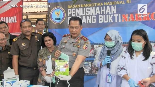 Badan narkotika Nasional mencium adanya keterlibatan kalangan artis dalam jaringan Narkoba