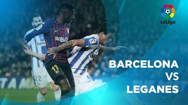 Berita video statistik Barcelona vs Leganes pada laga pekan ke-20 La Liga 2018-2019.