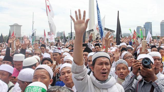 Gelar Reuni Akbar 212, Jutaan Muslim Banjiri Kawasan Monas