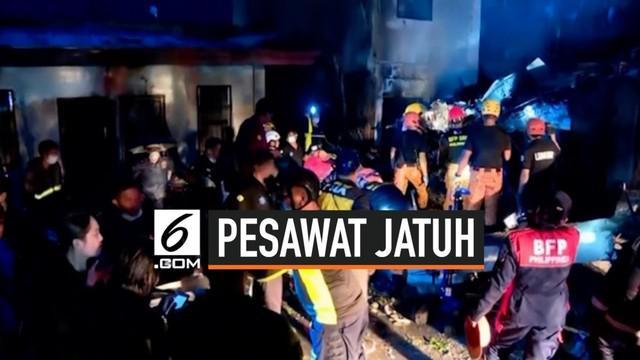 Sebuah pesawat ambulans jatuh di dekat resor Calamba, Filipina. Ketika kecelakaan terjadi, pesawat sedang membawa seorang pasien dan tim medis.